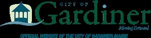 Logo for City of Gardiner, Maine.