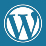 Logo for WordPress.org and WordPress.com.